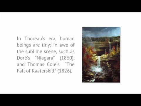 Introduction to Literature and the Environment: Lecture 14: Thoreau (conclusion)
