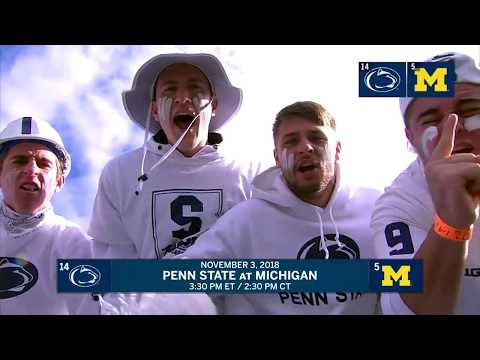 Penn State at Michigan: Week 10 Preview | Big Ten Football