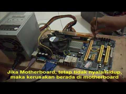 cara mengatasi komputer mati total part 3