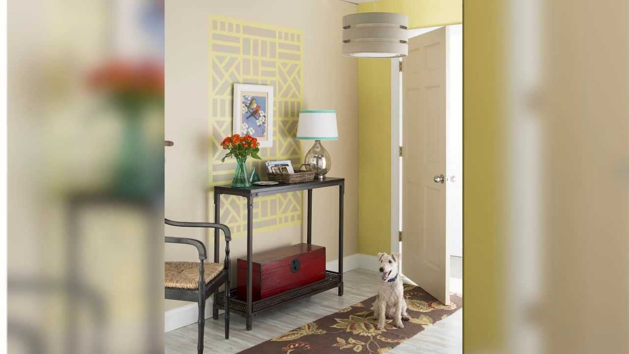 create a wall design using tape and paint lowes creative ideas youtube - Paint Designs On Walls With Tape Ideas