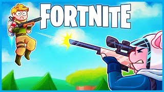 WELCOME to the *NO FLY ZONE* in Fortnite: Battle Royale! (Fortnite Funny Moments & Fails)