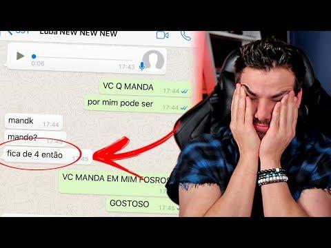 Expondo Minhas Conversas do Whatsapp com Luba