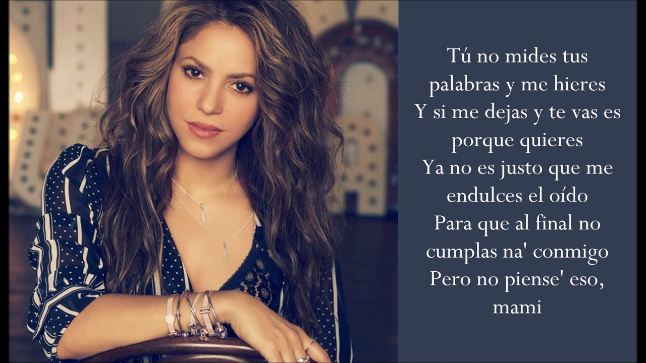 Me Gusta - Shakira & Anuel AA - (Lyrics/Letra) - YouTube