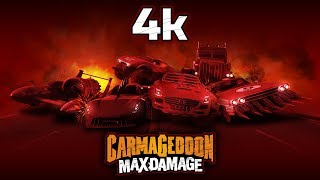 "Carmageddon Max Damage PC ""ULTRA SETTINGS"" 4K VIDEO TEST"