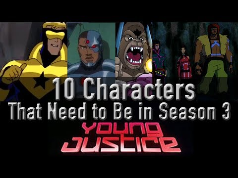 10 Characters That Need To Be In Young Justice Season 3 #youngjustice #renewyoungjustice
