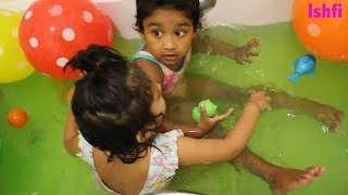 Toddler Happy Moment at Bath Part 2 | Ishfi