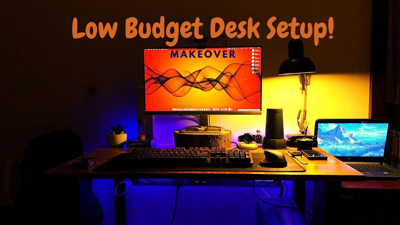 Low Budget and Affordable Desk Setup MAKEOVER for Hackintosh User!