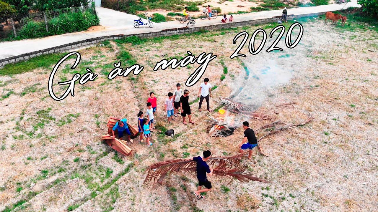 LOANH QUANH NGOÀI RUỘNG - GÀ ĂN MÀY 2020 - Den vlog