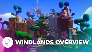 Windlands: Spider-Man Meets VR - Gameplay Overview
