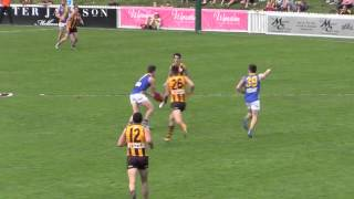 Final moments of 2015 Development League Grand Final