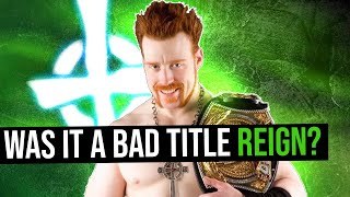 Was Sheamus's First WWE Title Reign Bad?