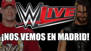 ¡NOS VEMOS EN MADRID! | WWE Live Madrid 13/11/2014