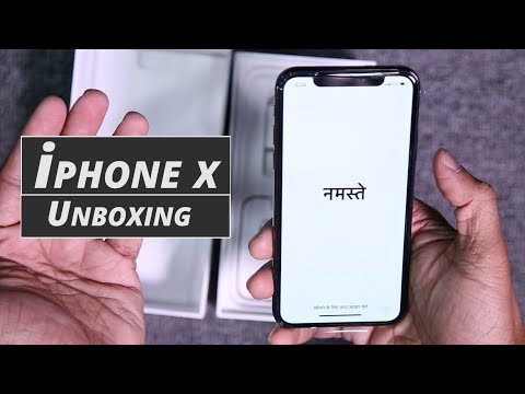 Apple iPhone X Unboxing And First Look