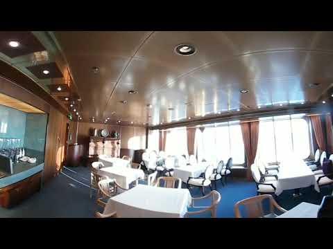 Holland America MS Rotterdam in 360 - Decks 3, 4, & 5
