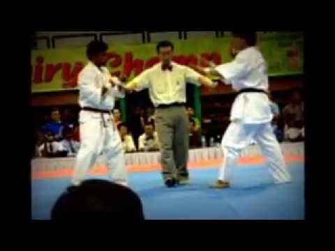 1st all asia kyokushinkan karate championship part1