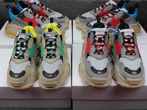 9ea10e89afea Balenciaga Triple S Sneaker Fit   Review - YouTube