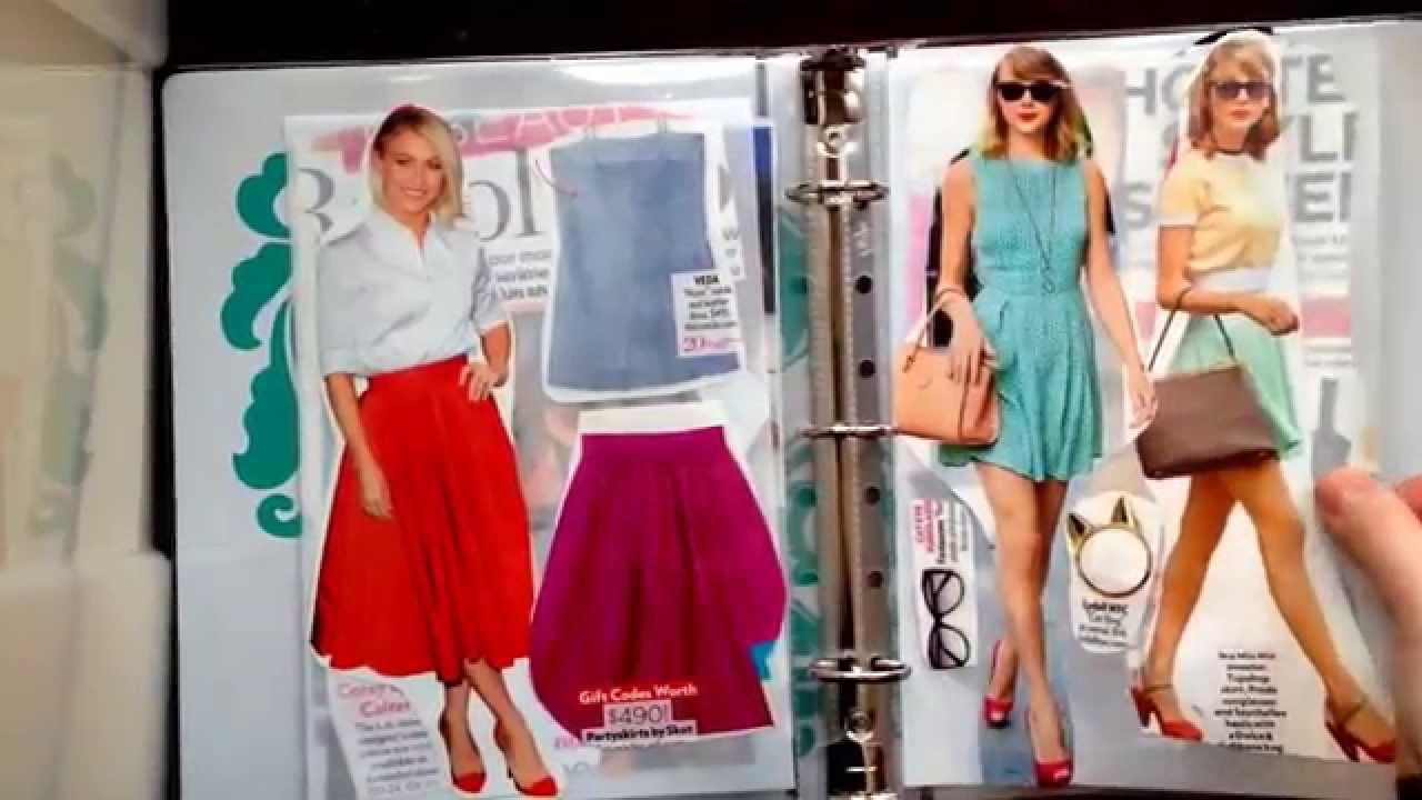 How to scrapbook journal - Diy Fashion Scrapbook Journal