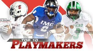 Early Contenders: Top 10 Playmakers