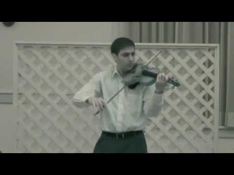 Paganini Caprice No  23 - Daniel Broniatowski