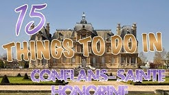 Top 15 Things To Do In Conflans Sainte Honorine, France