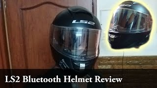 LS2 Bluetooth Helmet | Review | FF 397 | 100+ Subscribers