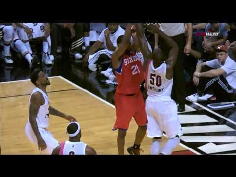 Joel Anthony Highlights Heat