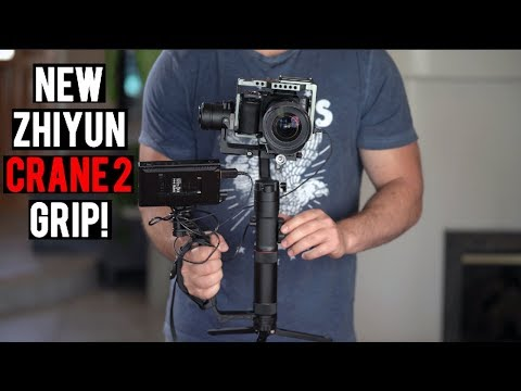 NEW Zhiyun Crane 2 Gimbal Accessory - Mini Dual Grip  Momentum Productions