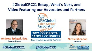 Thank You For Joining Us For The 2021 Global Colorectal Cancer Congress