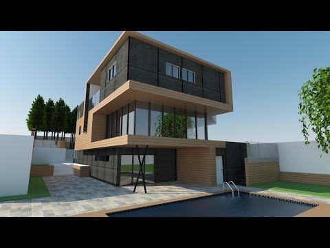 sketchup vray exterior - sketchup render tutorial