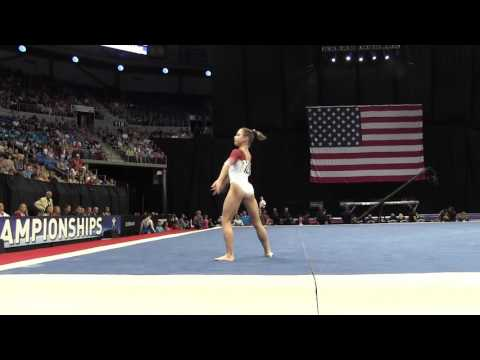 Ragan Smith - Floor Exercise - 2016 P&G Gymnastics Championships – Sr. Women Day 2