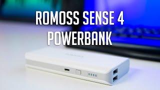Romoss - Sense 4 10400mAh Power Bank Review