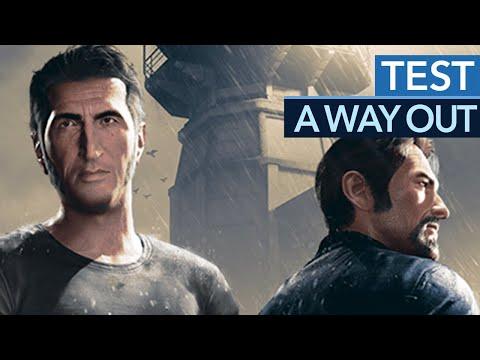A Way Out - Testvideo zum streitbaren Koop-Actionspiel