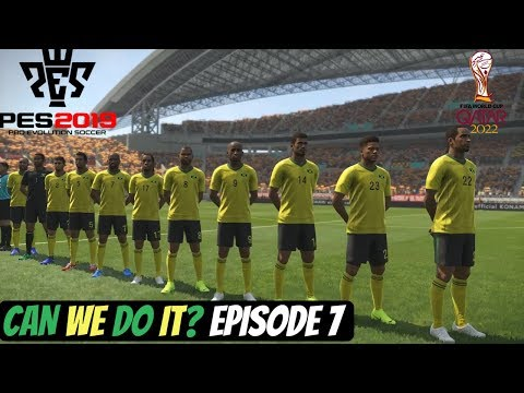 Jamaica World Cup Adventure - Pes 2019 - The Final - Jamaica Vs Belgium (Episode 7)