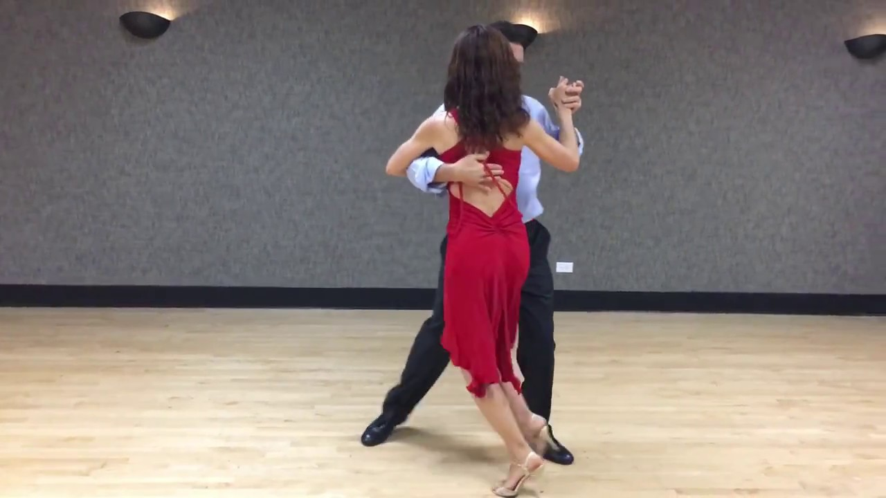 Argentine Tango (intermediate Steps) with Embellishments - YouTube