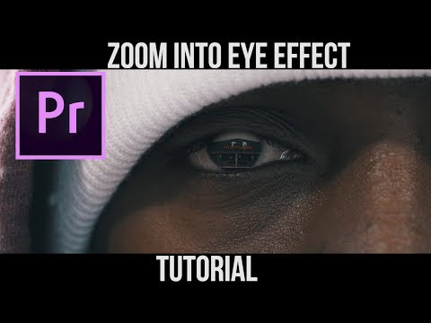 Zoom Into Eye Effect | Premiere Pro Tutorial |
