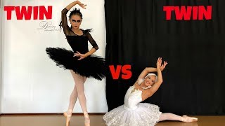 Ultimate BALLET TURNING Challenge! Twin vs Twin!