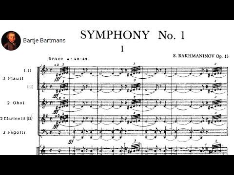 Sergei Rachmaninov - Symphony No. 1 in D minor, Op. 13 (1895)