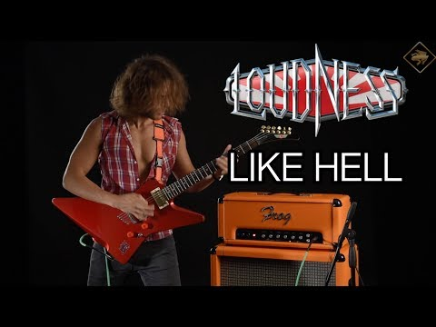 Loudness | like hell | full guitar cover | w/frog amps