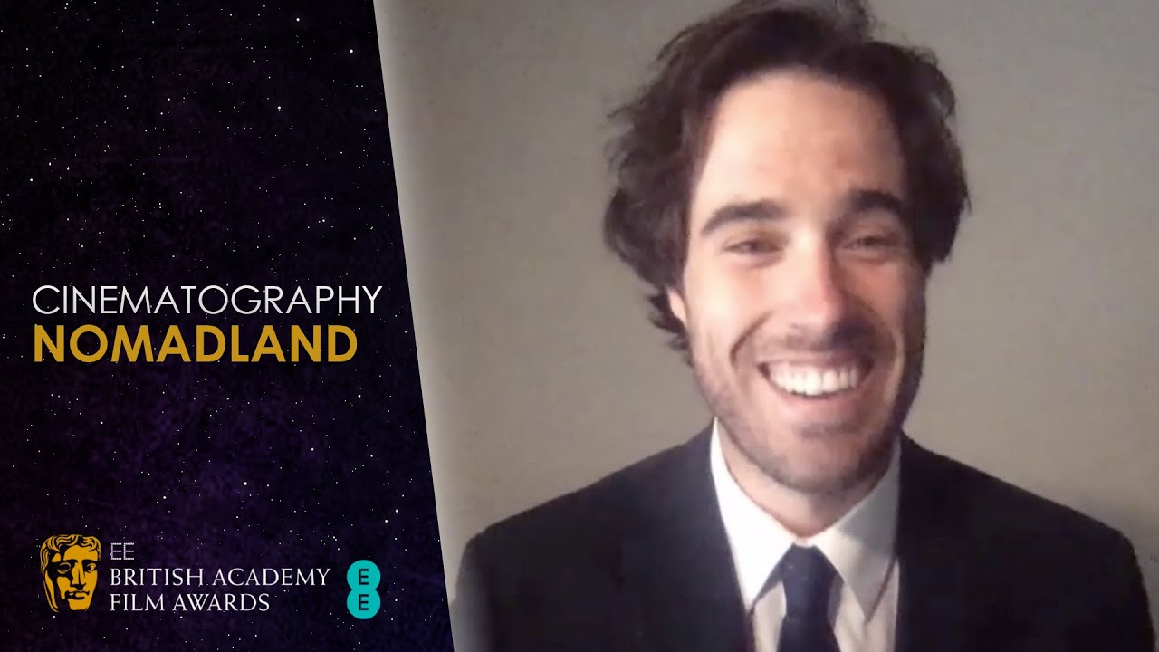 Joshua James Richards Wins Cinematography with Nomadland | EE BAFTA Film  Awards 2021 - YouTube