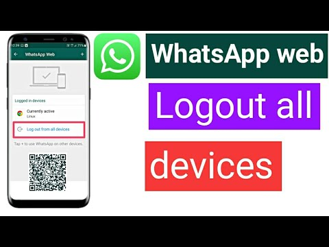 logout WhatsApp account from other devices | how to logout WhatsApp web all devices