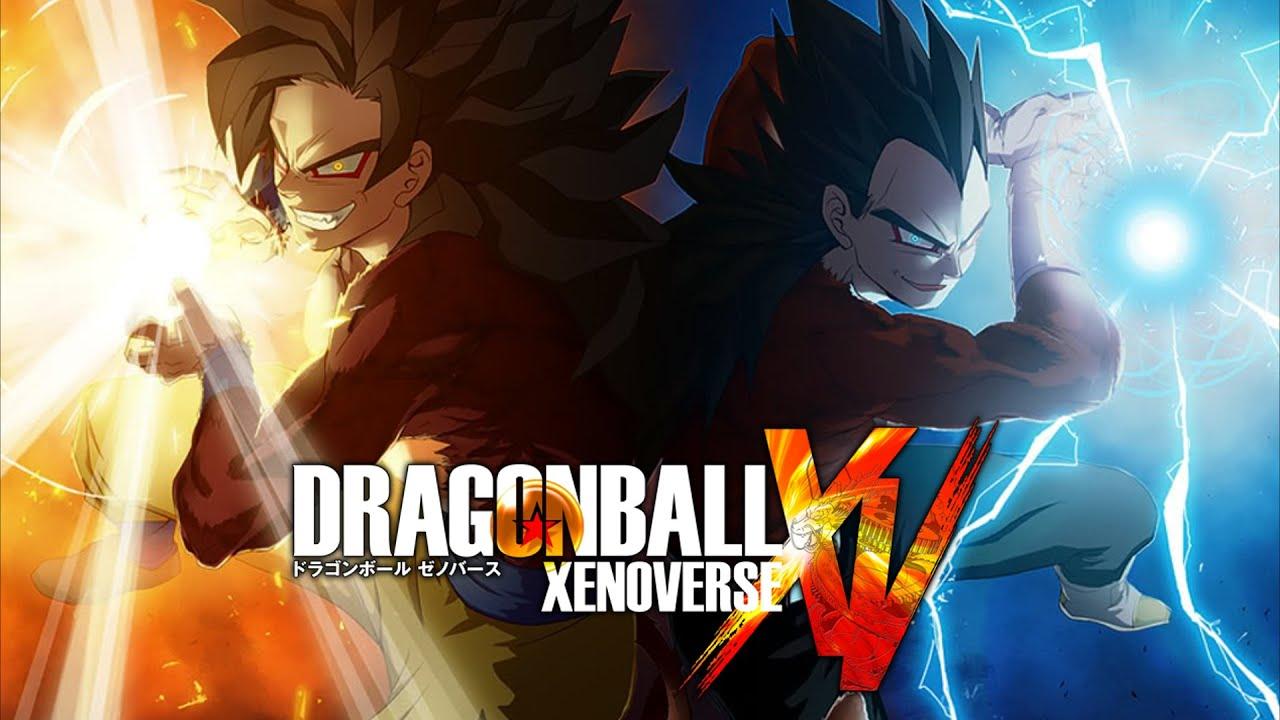 Dragon ball xenoverse goku super sayan 4 vs vegeta super - Dragon ball xenoverse ss4 vegeta ...