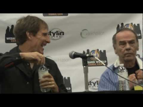Scott Bakula  Dean Stockwell Quantum Leap Philadelphia Comic Con Panel 2012 Part 1