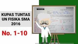 Soal dan Pembahasan UN Fisika SMA 2016 (No 1-10)