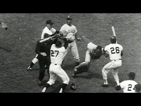 Juan Marichal and Johnny Rosenboro baseball fight