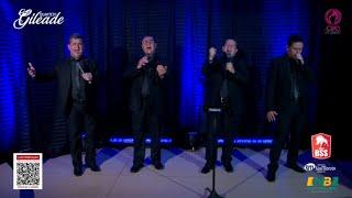"""LIVE - Quarteto Gileade - Lançamento Novo Álbum EI, CALMA!"""""""