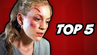 Walking Dead Season 5 Episode 4 - TOP 5 WTF Moments