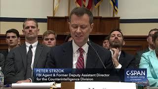 FBI Deputy Assistant Director Peter Strzok full opening statement (C-SPAN)