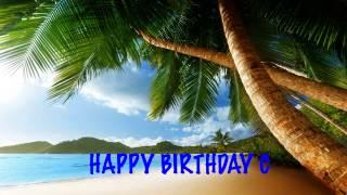 C   Beaches Playas - Happy Birthday