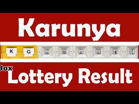 KR-386 Karunya Kerala Lottery Result Live Video 09.03.2018