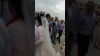 Поздравление президента невесте На набережной